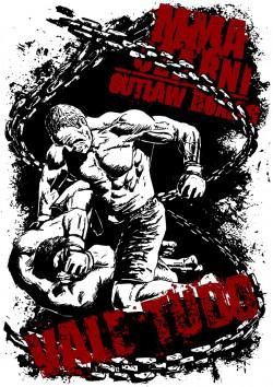 MMA Czarni Vale Tudo koszulka